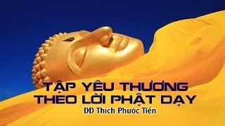 Tập Yêu Thương Theo Lời Phật Dạy - Thích Phước Tiến (2014)