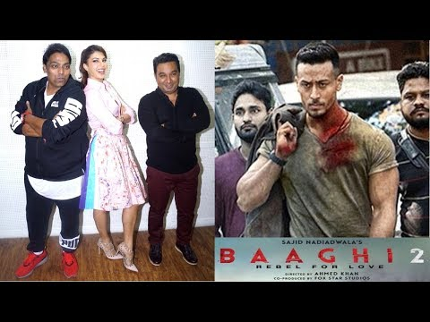 Baaghi 2 Interact With Media & The Wrap Of Jacqueline Fernandez | Ek Do Teen Song |