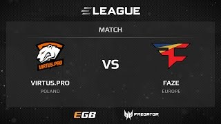 Virtus.pro vs FaZe, map 3 cache, ELEAGUE Season 2