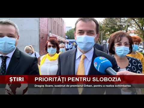 Dragoş Soare, susţinut de premierul Orban, pentru a realiza schimbarea la Slobozia