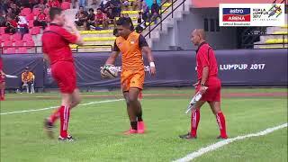 19 Ogos: Ragbi 7s (Round Robin) Malaysia 51 - 0 Kemboja SUBSCRIBE YouTube Astro Arena (youtube.com/AstroArena) Layari...