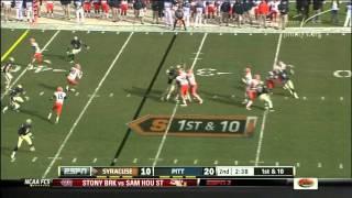 Justin Pugh vs Pitt (2011)