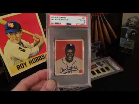 Jackie Robinson PSA Collection
