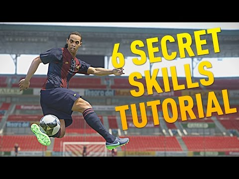 PES 2017 - 6 SECRET SKILLS TUTORIAL ft. TheMidniteKid