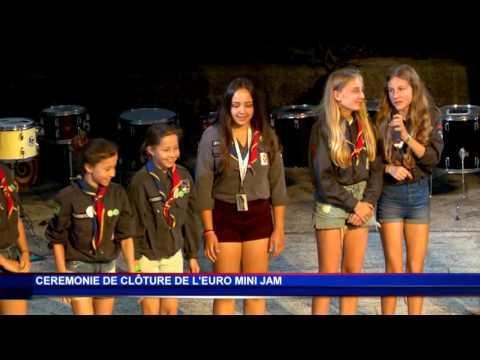 L'Euro Mini Jam se conclut en chanson