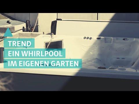 Wohntrend: Außen-Whirlpool