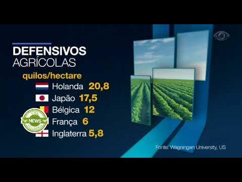 Jornal da Band: Câmara discute regulamentação de defensivos agrícolas