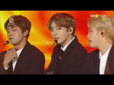 170119 BTS(방탄소년단) - Boy Meets Evil + Blood Sweat & Tears + FIRE(불타오르네)@Seoul Music Awards