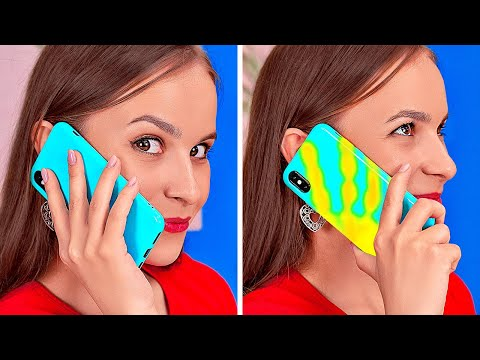 COOL HACKS TO UPGRADE YOUR PHONE || Best DIY Custom Ways And Tricks For Your Case By 123 GO! BOYS