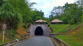Knolly's Tunnel Tabaquite Trinidad and Tobago.. the longest tunnel in the Caribbean is featured in this episode of #Gallivanting with Chris De La Rosa of ChrisDeLaRosa.com  About 660 feet in length it was named after then Colonial Governor of Trinidad and Tobago, Sir Courtney Knollys, who officially opened the new railway tunnel on 20th August 1898.Knollys' Tunnel was built in 1898 to facilitate the train line, which was extended from Cunupia to Tabaquite. The train line was extended to allow the cocoa estates to move their produce out of the area. Cocoa was planted in Tabaquite, Caparo Valley, Brasso and Longdenville.Please support my efforts @ https://www.patreon.com/caribbeanpotGet my Gourmand Award winning cookbook, The Vibrant Caribbean Pot - 100 Traditional And Fusion Recipes Vol 2 @ http://www.WestIndianFoodCompany.comConnect with Chris De La RosaFacebook: https://www.facebook.com/RealCaribbeanPot/Twitter: https://twitter.com/obzokeeInstagram: caribbeanpotContact: http://caribbeanpot.com/contact/Pinterest: http://www.pinterest.com/caribbeanpot/the-caribbean-pot/To learn more about Chris De La Rosa, you can visit http://www.ChrisDeLaRosa.com