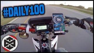 2. 100MPH CHALLENGE on the CRF450R!!