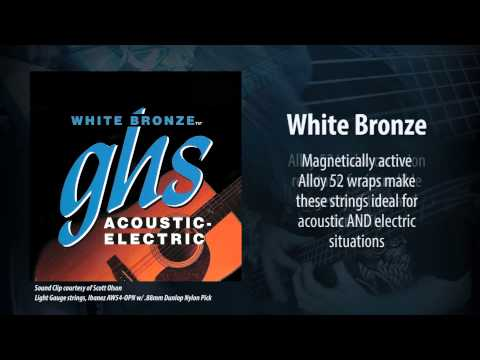 GHS Strings - White Bronze Acoustic Strings