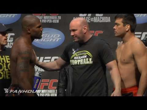 UFC 123 Rampage vs Machida Weigh-In Highlights