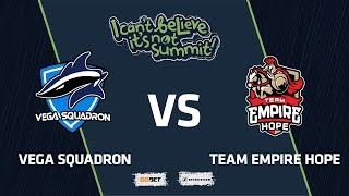 Vega Squadron vs Team Empire Hope, Game 2, Group Stage, I Can't Believe It's Not Summit