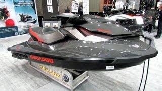 4. 2013 Sea-Doo GTI Limited 155 Jet Ski - Walkaround - 2013 Montreal Boat Show