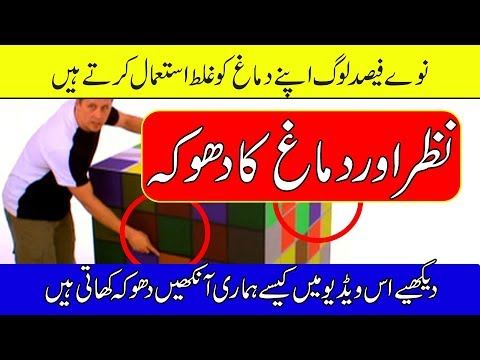 Optical Illusions In Urdu - Test Your Brain - Purisrar Dunya - Urdu Documentaries