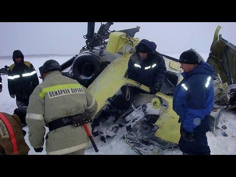 Ρωσία: Δέκα νεκροί από πτώση ελικοπτέρου της Rosnef στη Σιβηρία