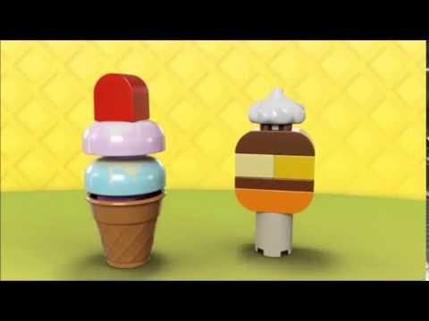 Vidéo LEGO Duplo 10574 : Ensemble de glaces délicieuses