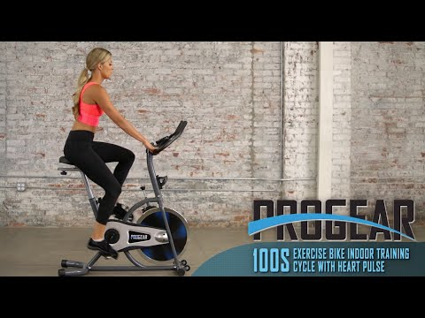 3205 - Progear 100S Exercise Bike Indoor Training Cycle with Heart Pulse