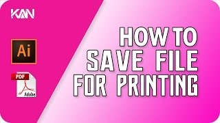 "If you save file for printing purpose, you save file as pdf. You must add ""Trim Marks"" & ""Bleeds"" in your file for the safety of finishing"