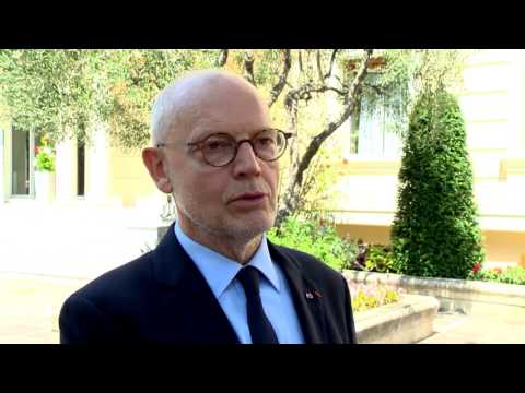 Serge Telle at the high-level forum on sustainable development