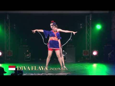 【GDC 7th】GATSBY DANCE COMPETITION 2014-2015:ASIA GRANDFINAL/DIVA FLAVA【INDONESIA】