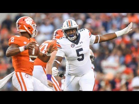 Video: Derrick Brown: Auburn Tiger -