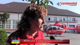 Interviul Zilei - invitat: prof, dr. Diana Cimpoesu, medicc coordonator UPU SMURD Iasi