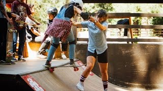 Element YMCA Skate Camp Girls Week 2016