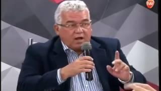 Paulo Souto falando sobre a reforma da previdência