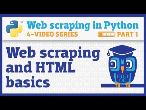 Web Scraping In Python (Part 1): Getting Started