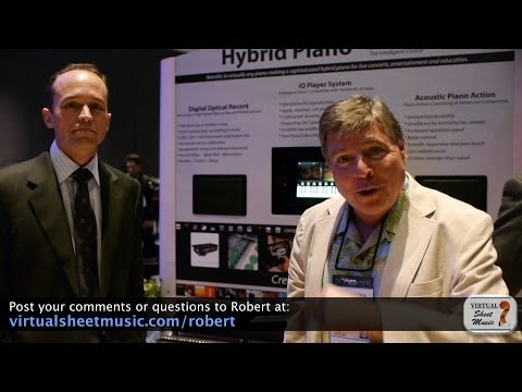 NAMM 2014 - Interview with David Honeywell from PianoDisc
