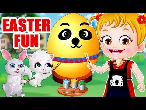 Video of Baby Hazel Easter Fun