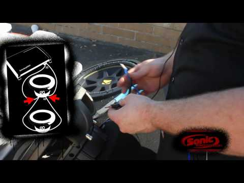 4 ohm - Get yours!: http://www.sonicelectronix.com/item_21931_Kicker+C124+-10C124-.html Learn how to wire your car subwoofers to a final impedance of 2 ohms! In this...