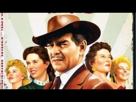 The King And Four Queens (1956) Western, Clark Gable, Eleanor Parker
