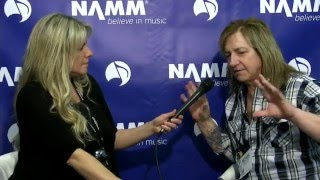 Krishta Abruzzini interviews Michael Lardie of Great White.  He will speak of the work on the documentary series in production, new music, what's going on with Great White and his history with NAMM.