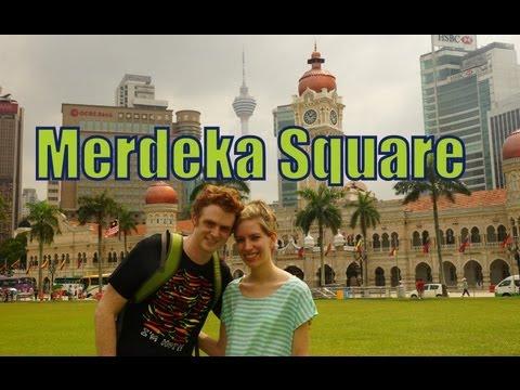 Merderka Independence Square in Kuala Lumpur, Malaysia