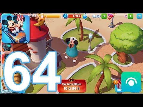 Disney Magic Kingdoms - Gameplay Walkthrough Part 64 - Level 25 (iOS, Android)