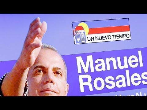 Βενεζουέλα: Ελεύθερος ο Μανουέλ Ροζάλες