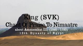 Video King SVK - Chant Of Praise Of Nimaatre (LYRICS VIDEO)