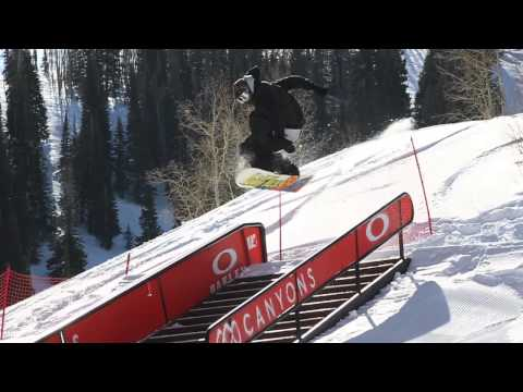Hot Laps! Transitions Terrain Park, Canyons Resort