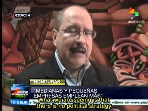 Economic crisis in Honduras worsens