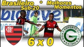 Flamengo 6 x 0 Goiás * Brasileiro Sub-20 2017 * Melhores Momentos