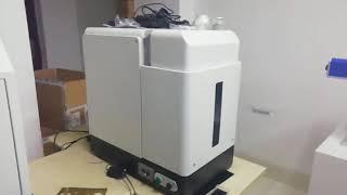 50W small sealed fiber laser marking machine youtube video