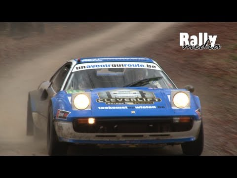 ferrari 308 gtb al rally legend boucles di spa!