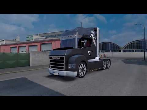 Scania Stax Concept Truck + Interior v2.4 (updated) by NewS