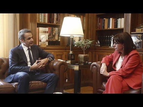 Σακελλαροπούλου και Μητσοτάκης προς Τουρκία: Θα αντιμετωπίσουμε όλες τις προκλήσεις…