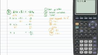 Intermediate Algebra - Review 3A: Linear Equations (Part A)