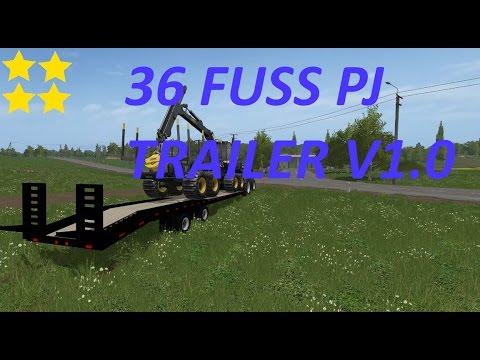 36 Foot Pj Trailer v1.0