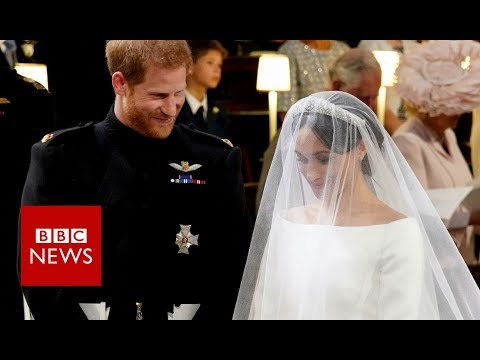 Royal wedding 2018: Lip-reader on what Meghan and Harry said - BBC News